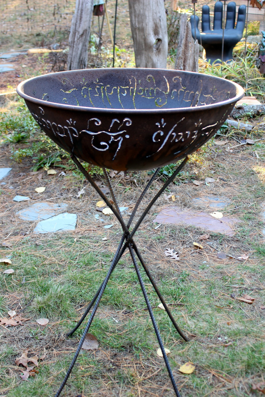 Black Speech fire bowl