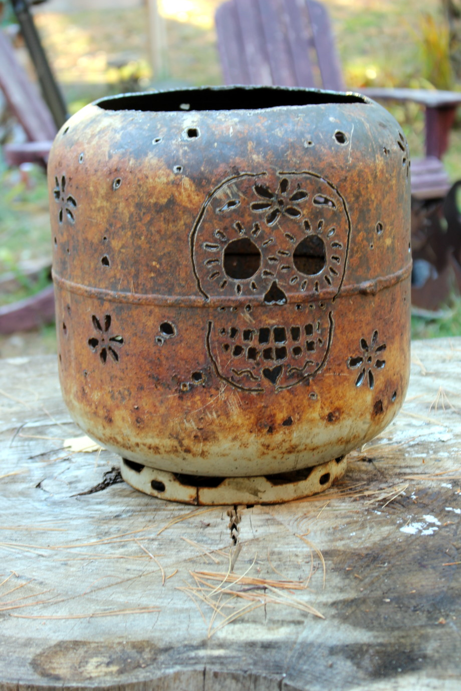 Sugar Skull firepot