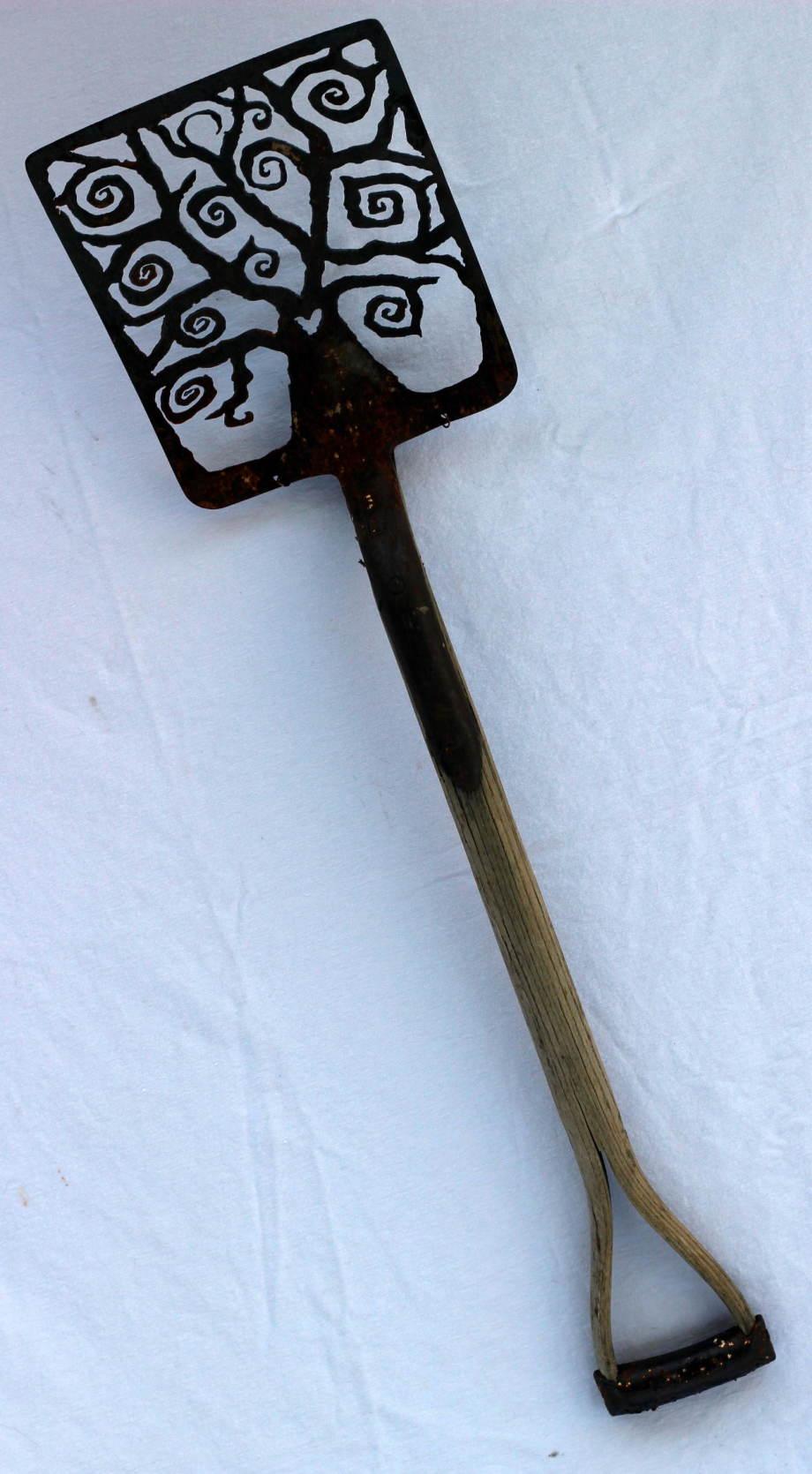 Spiral Tree Antique shovel