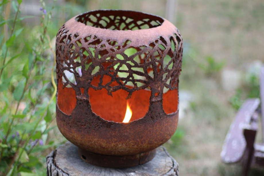 Trees firepot