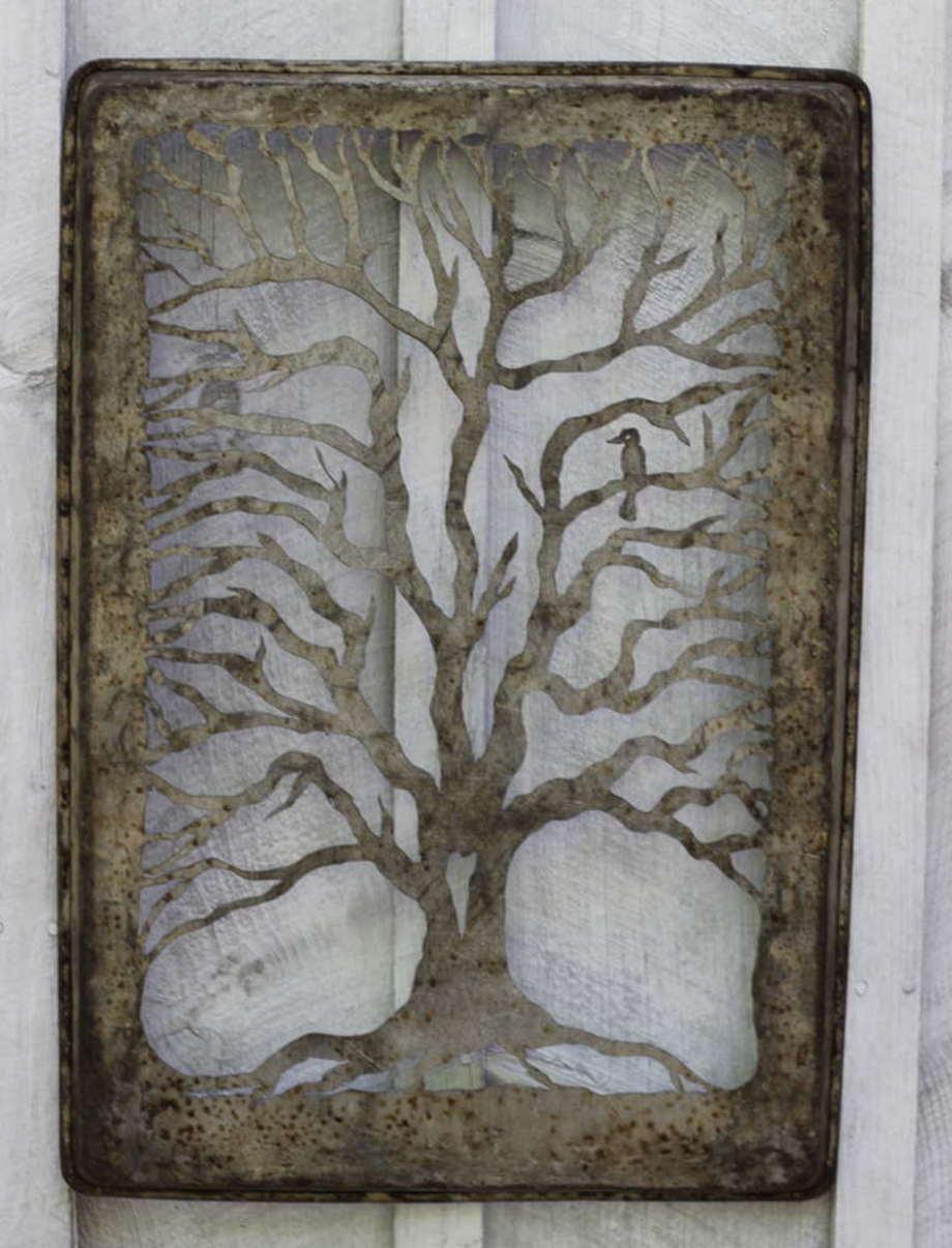 Bird in a Keebler Tree