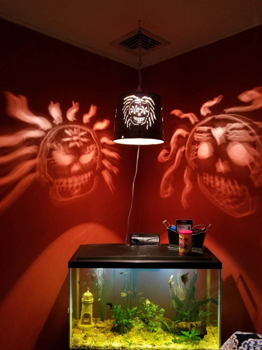 Day of the Dead lamp
