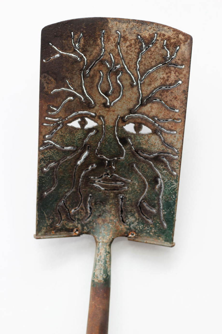 Green Man shovel