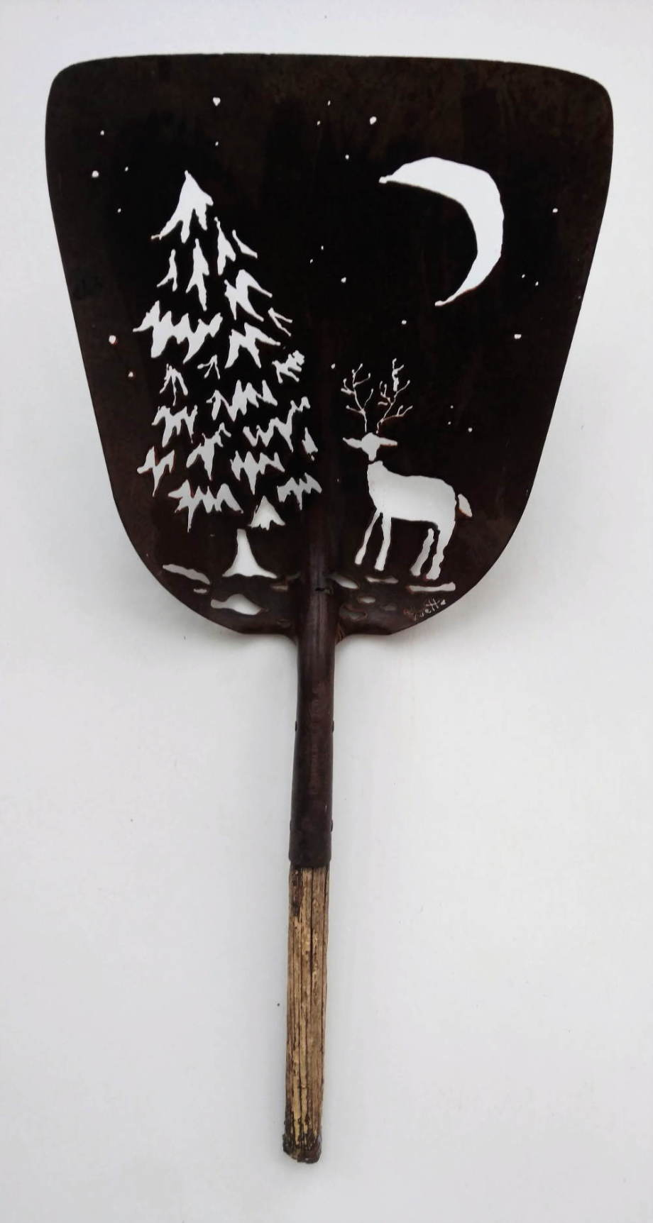 Winter Night shovel