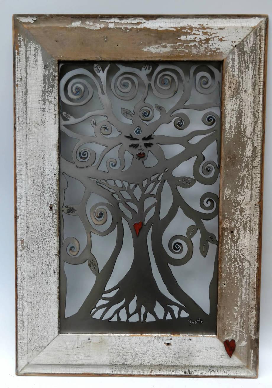 Garden Goddess - framed