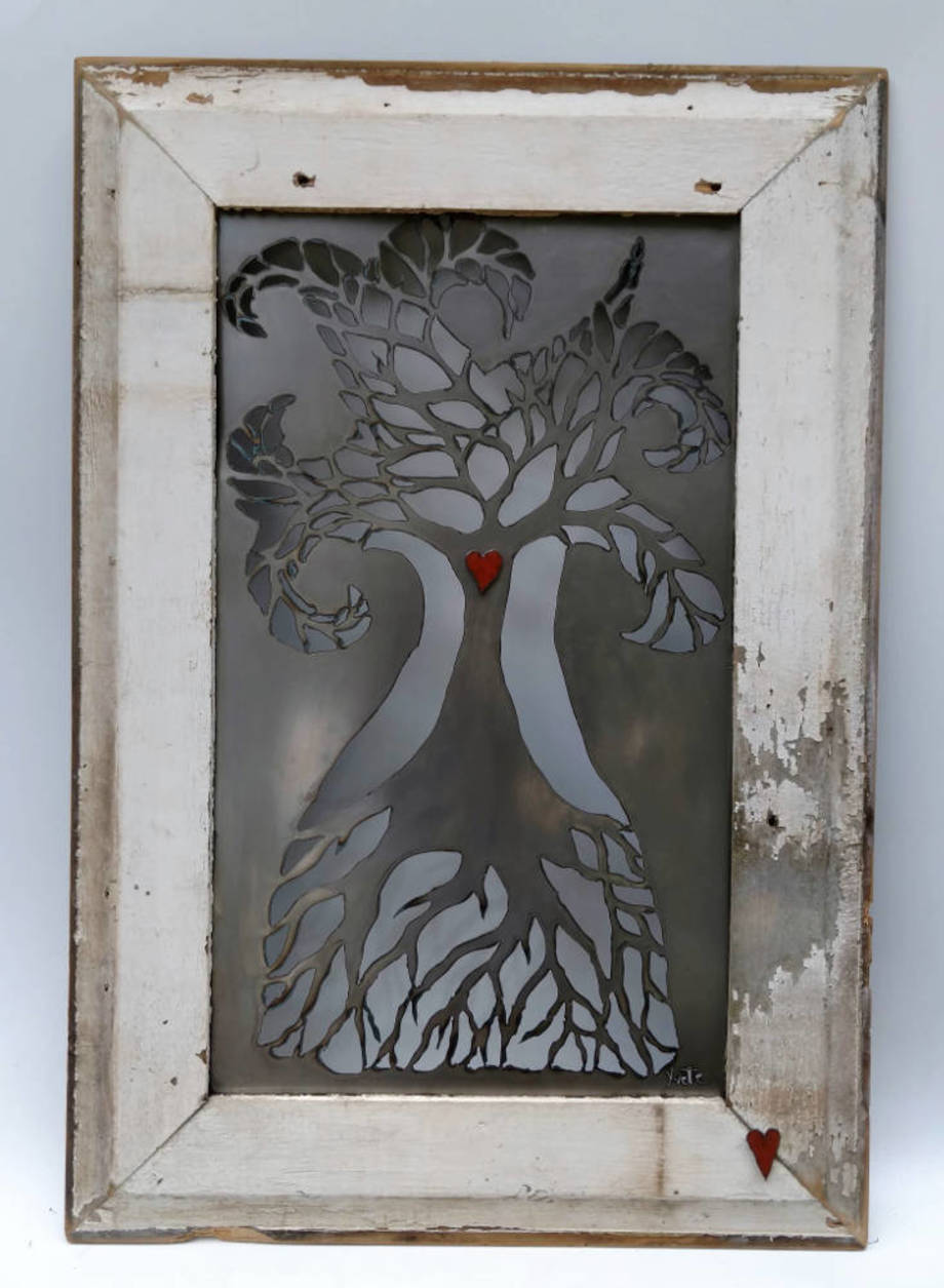 Tree Goddess - framed