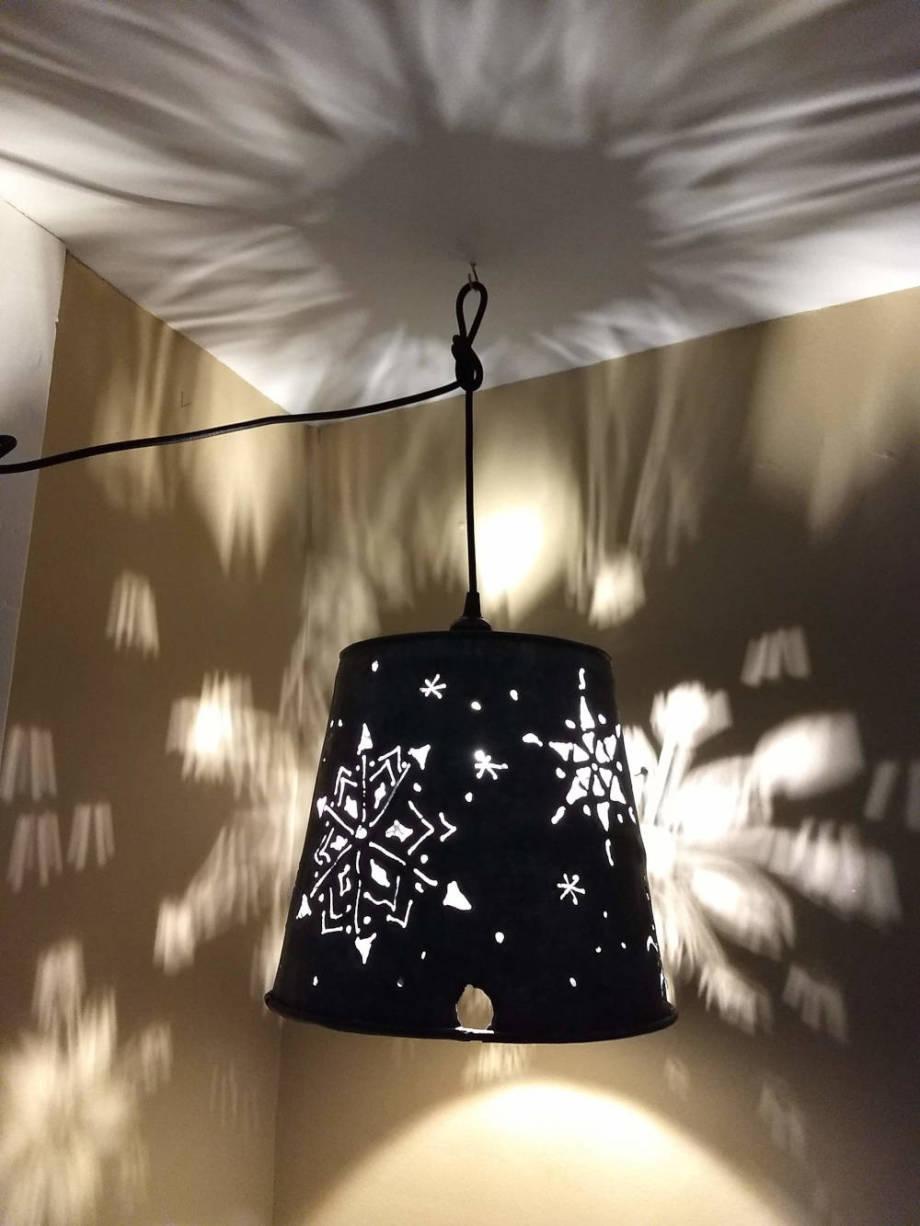 Snowflakes 2 Hanging Lamp