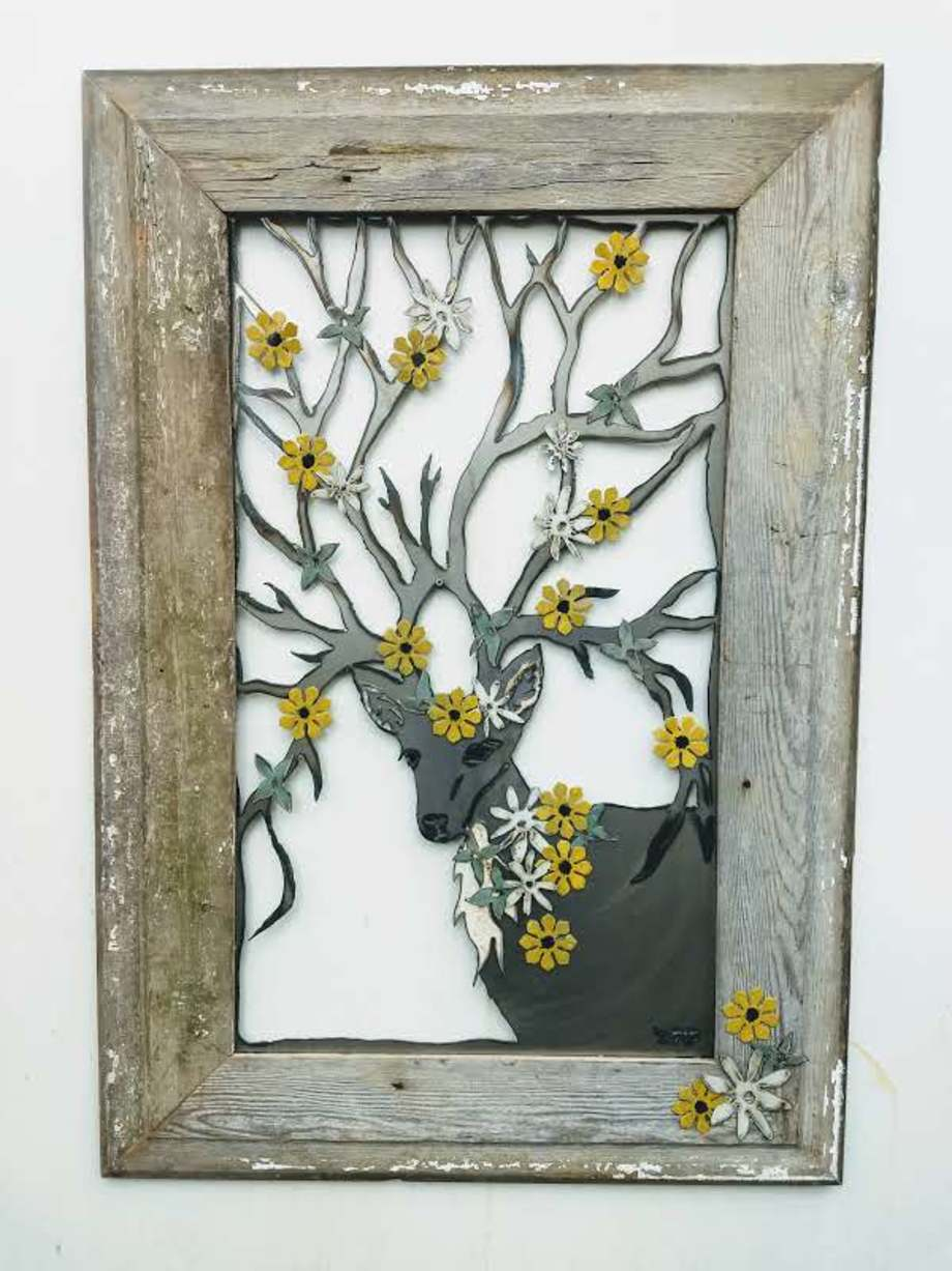 The Peace of Wild Things - Framed