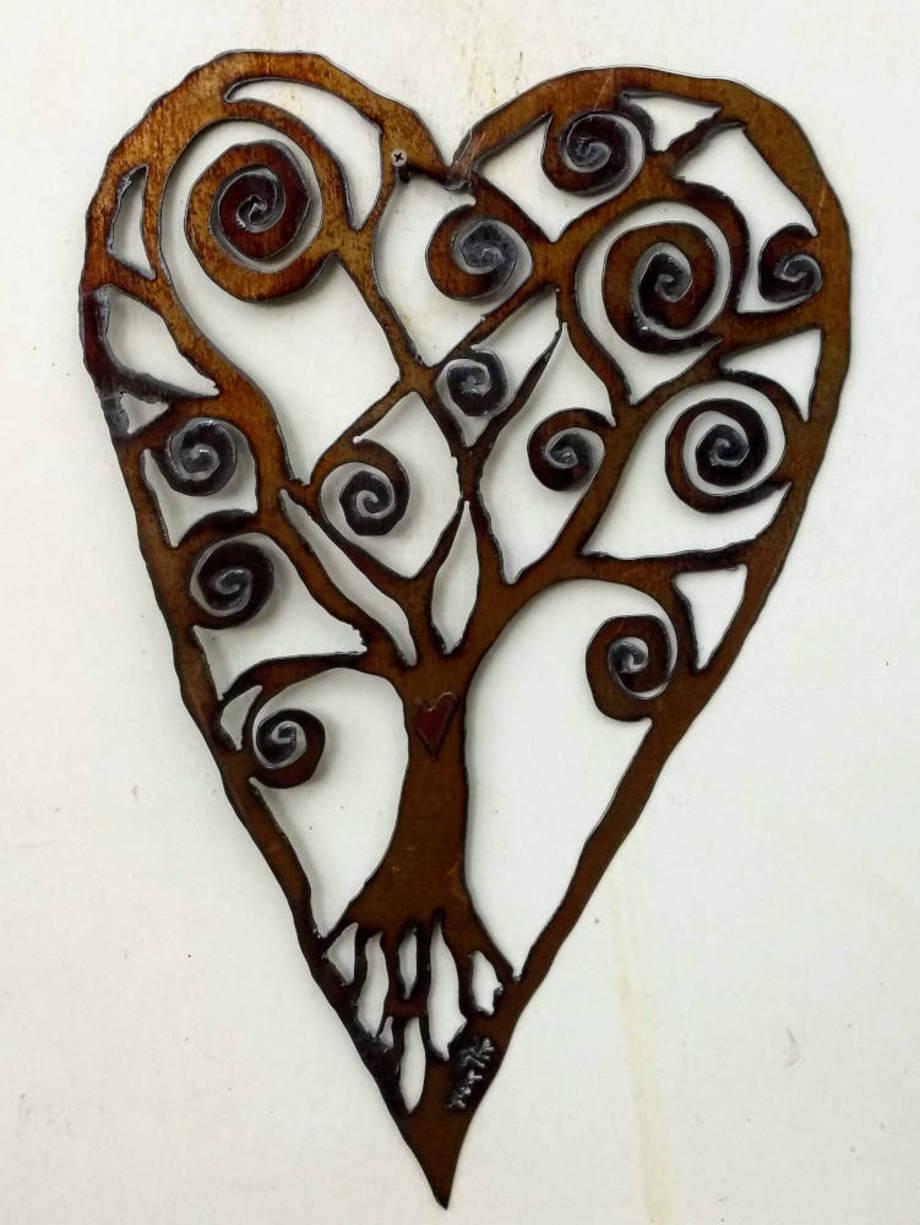 Spiral Tree Heart