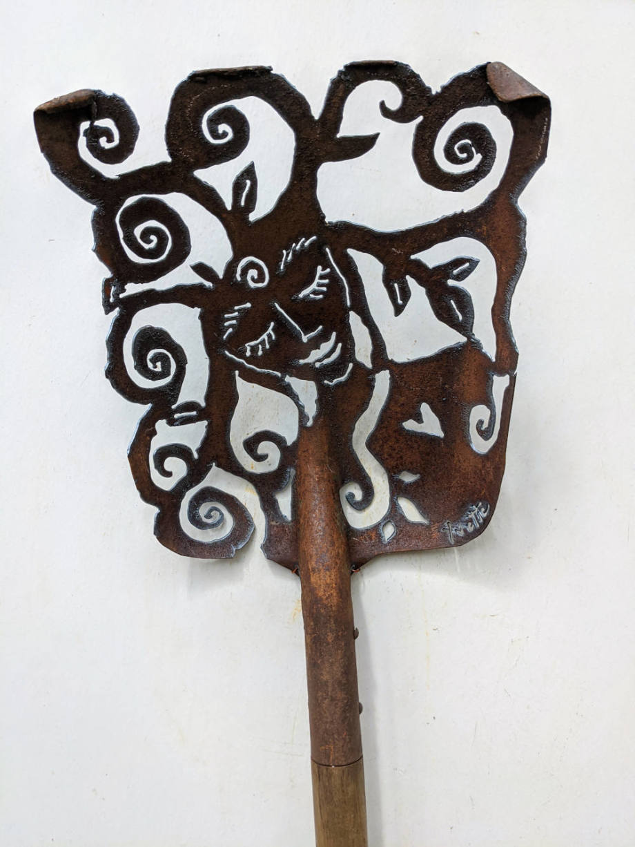 Mother Nature shovel