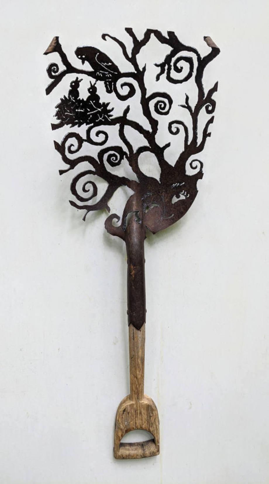 Vero & The Birds Antique Shovel