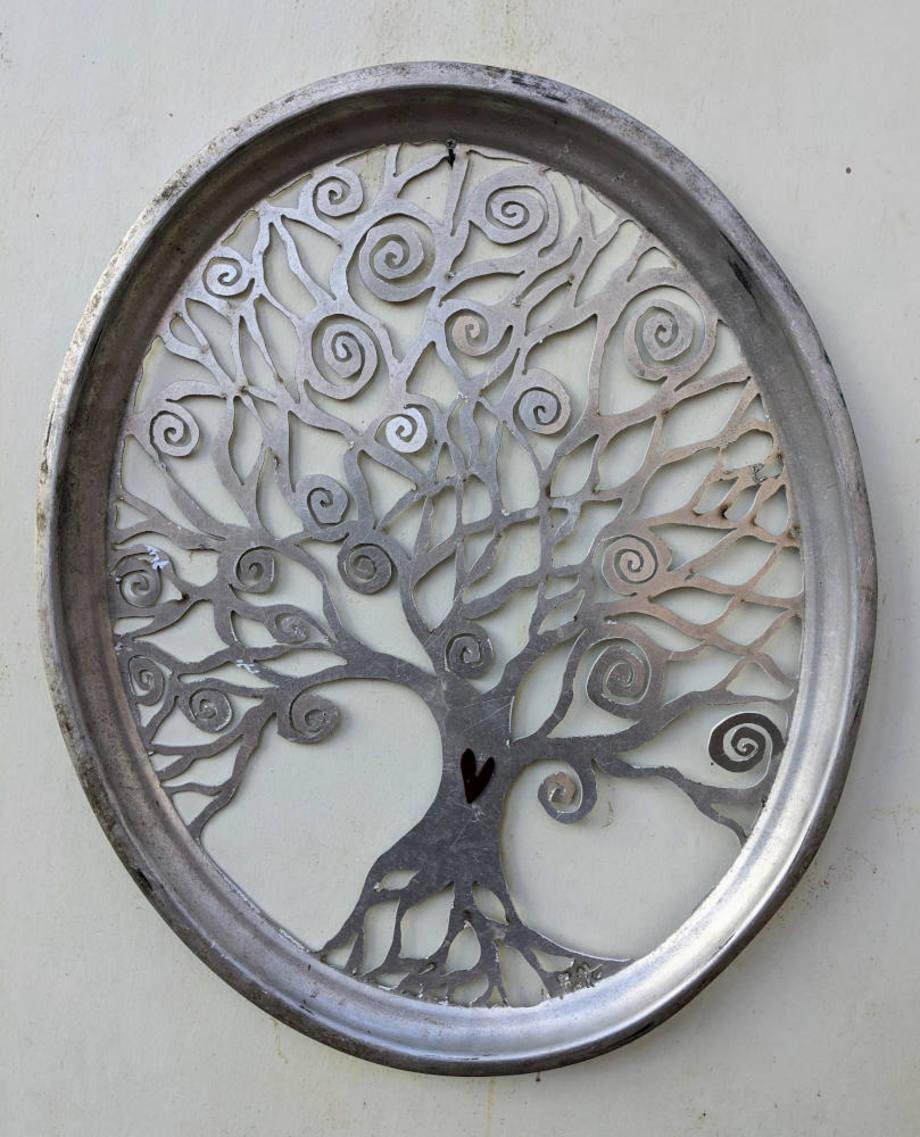 Spiral Tree tray