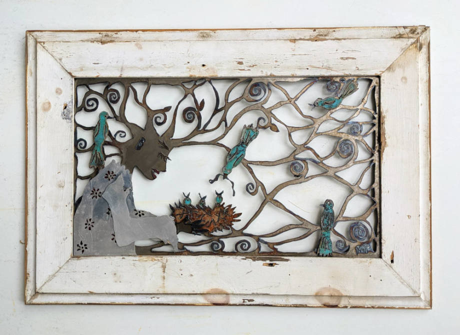 Vero & The Birds - Framed