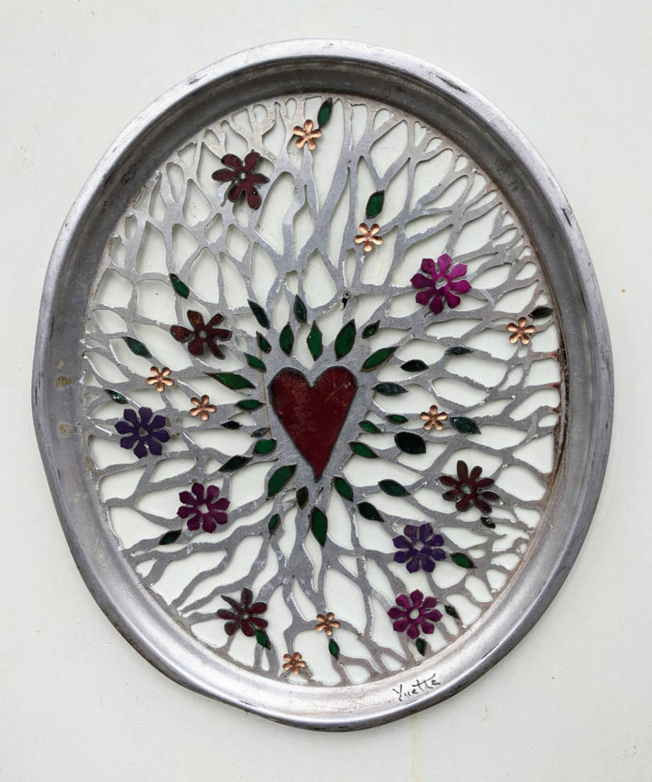Blooming Heart Tray
