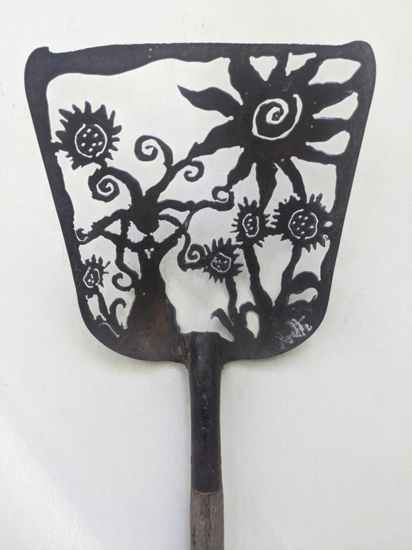 Sunflower Goddess shovel
