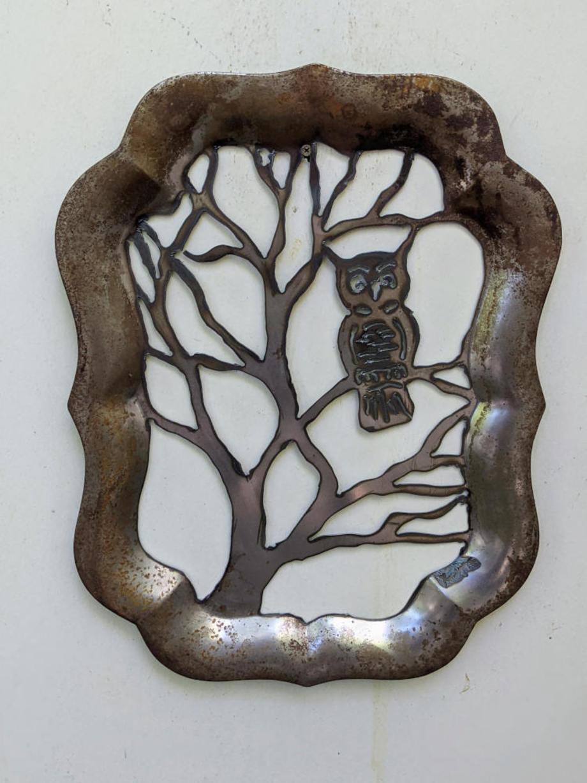 Owl Tree Tray