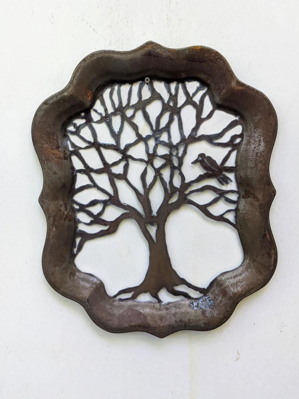 Bird Tree Tray