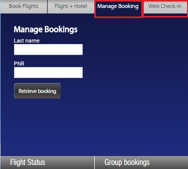 go air manage booking