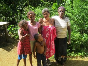Farmers family in Bahia