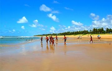 Praia near Sitio do Conde