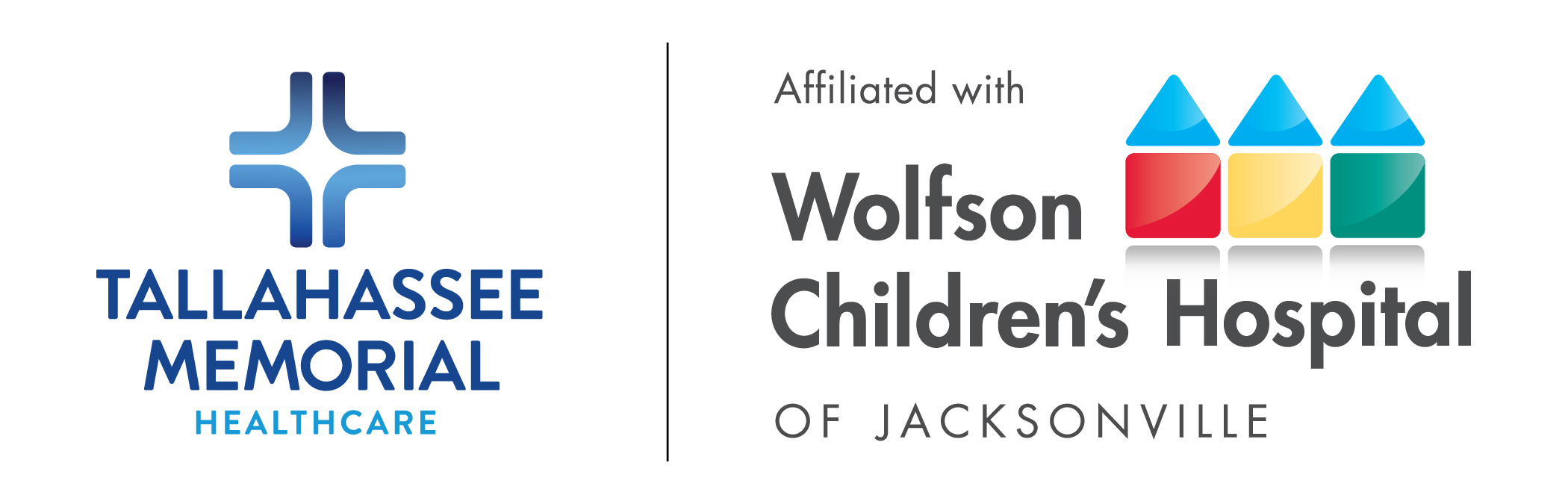 Tallahassee Memorial and Wolfson Children's Logos