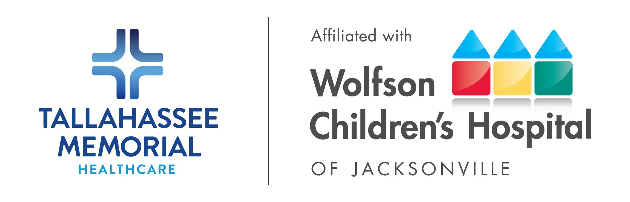Tallahassee Memorial and Wolfson Children's Logos
