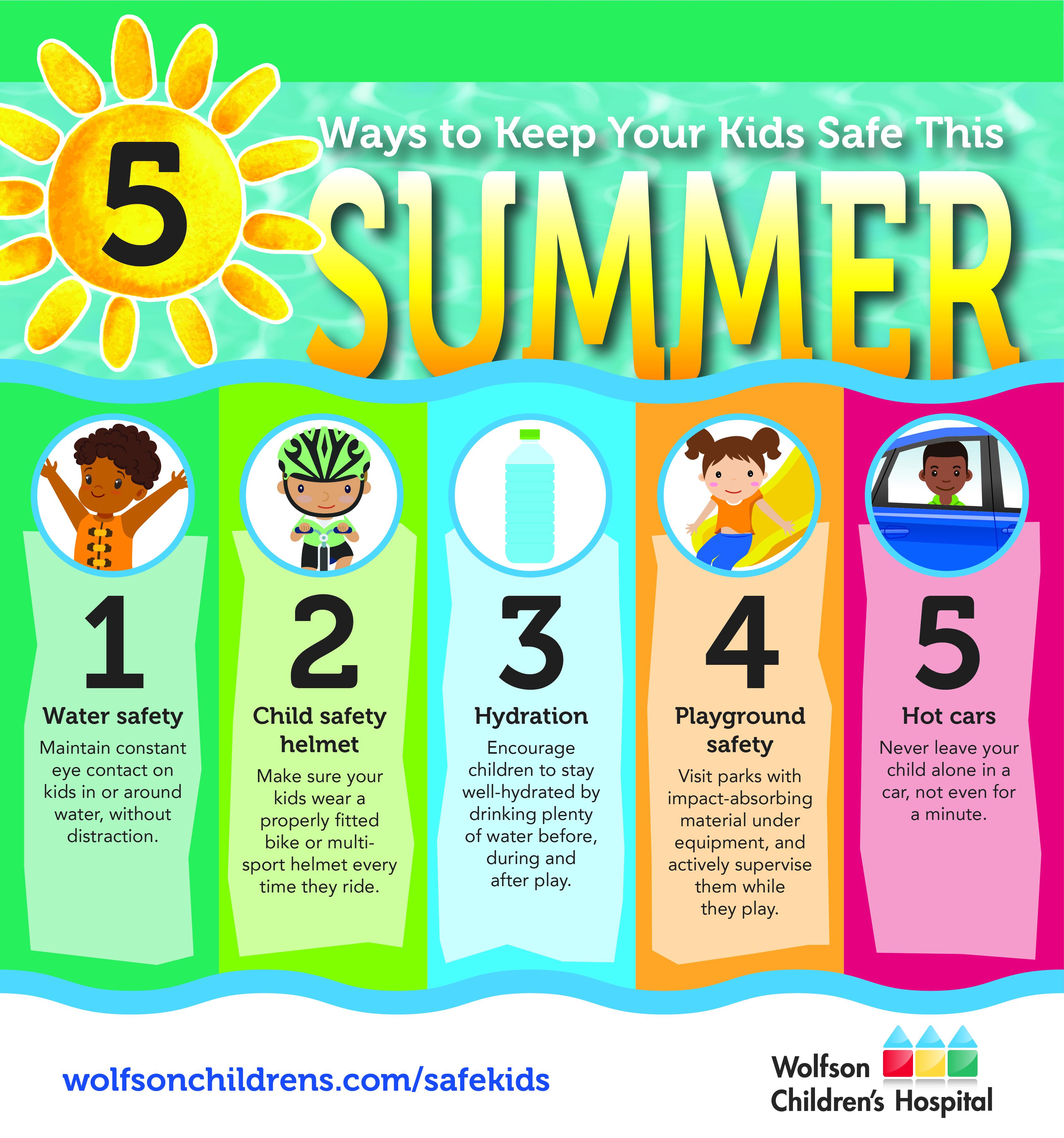 Keep your kids safe for summer