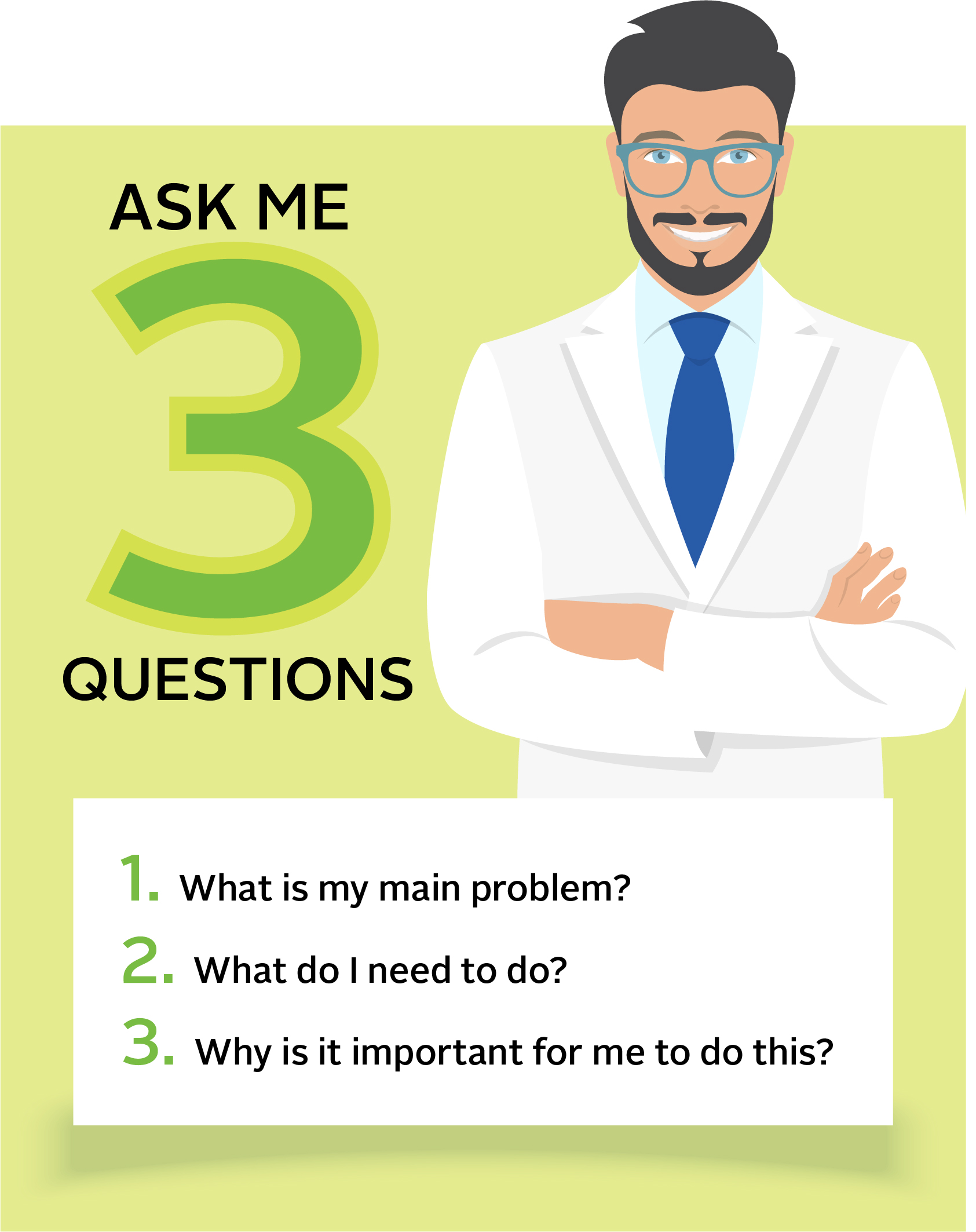 Ask Me Three Questions