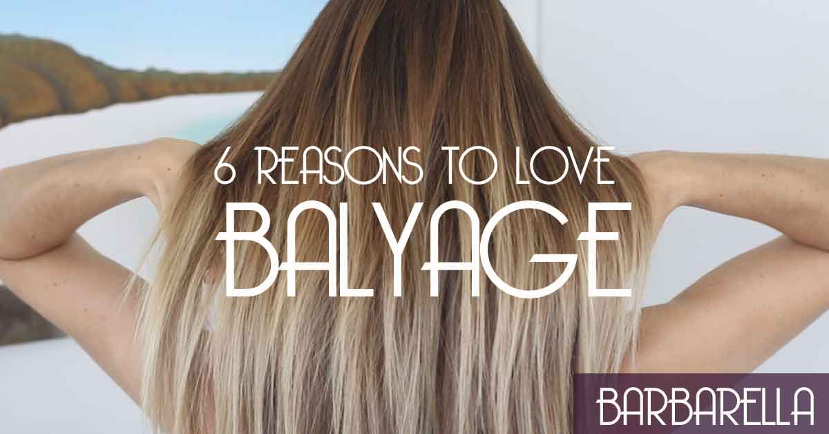 balyage hairstyle