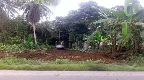 Pembukaan Jalan Baru di Desa Sikapak Barat