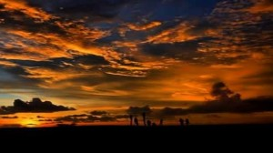 sunset pariaman