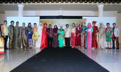 Pariaman Fashion Parade 2016 Bangkitkan Rancangan Desainer Lokal Kota Pariaman