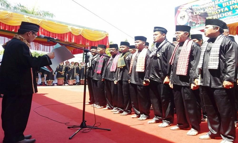 Mukhlis Rahman dan Arrahmi Kembali Pimpin LKAAM dan Bundo Kanduang Kota Pariaman