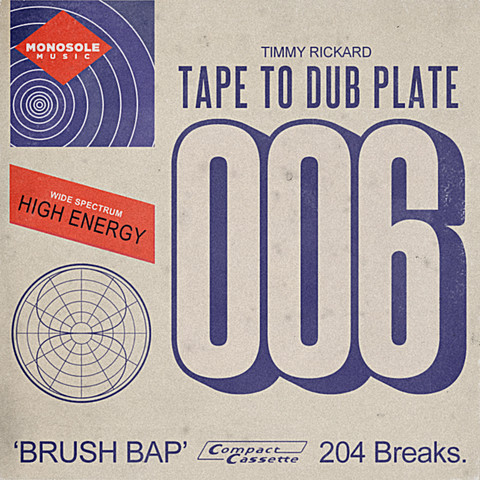 Tape to dub plate
