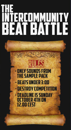 Intercommunity beat battle 1