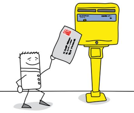 R diger une adresse postale for La poste changement adresse definitif