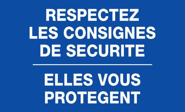 Consignes de s curit en cas d 39 urgence - Respecter les consignes de securite ...
