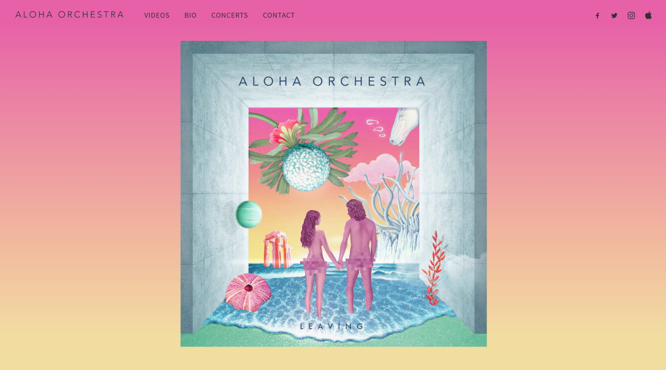 alohaorchestra-website-screenshot