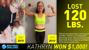 Beachbody Results: Kathryn Lost 120 Pounds!