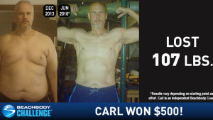Beachbody Results: Carl Lost 107 Pounds!