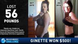 Beachbody Results: Ginette Lost 56 Pounds and Won $500