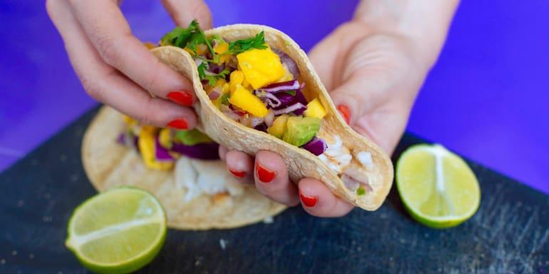 Fish Tacos with Fresh Mango Avocado Salsa - The Beachbody Blog