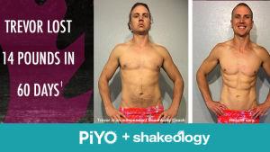 PiYo Results Trevor A