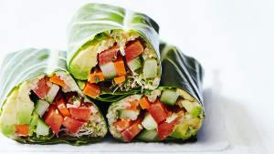 Crunchy Veggie Wraps Recipe