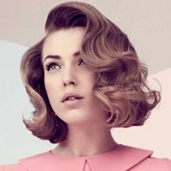 Vintage Waves for the Short Hair
