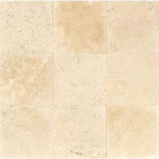 Mediterranean Beige 16x16 travertine tile