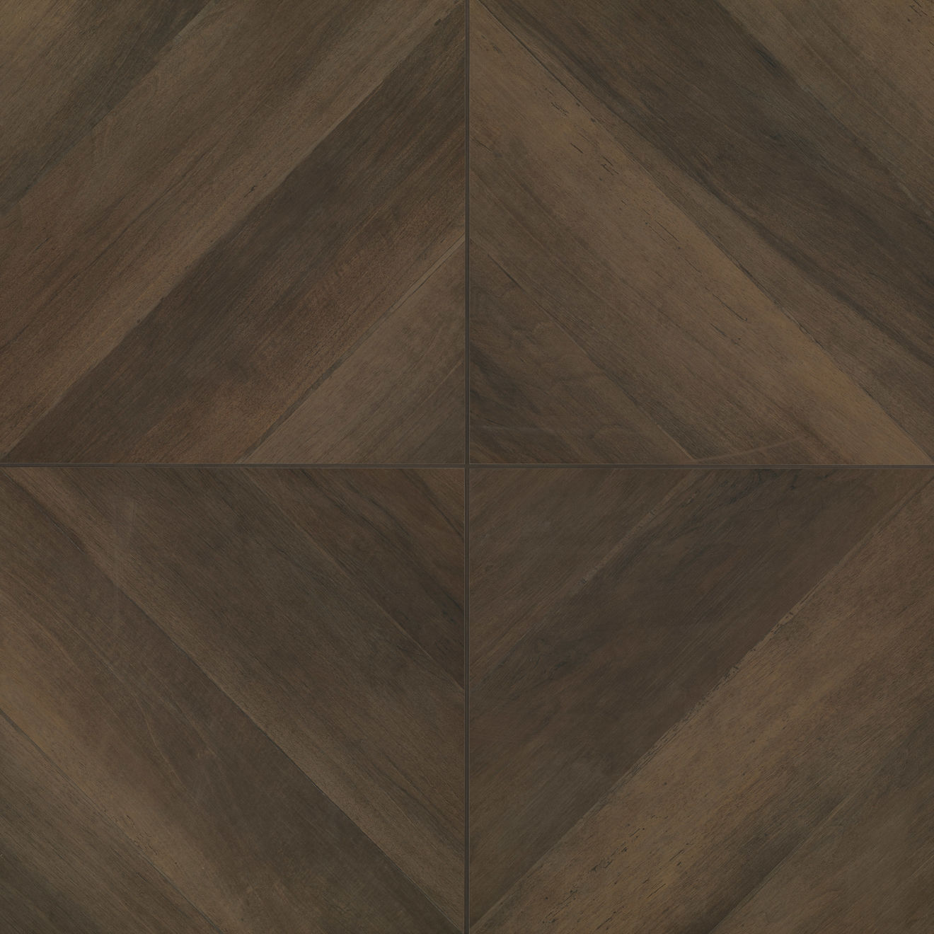Antique 24 X 24 Floor Wall Tile In Wenge