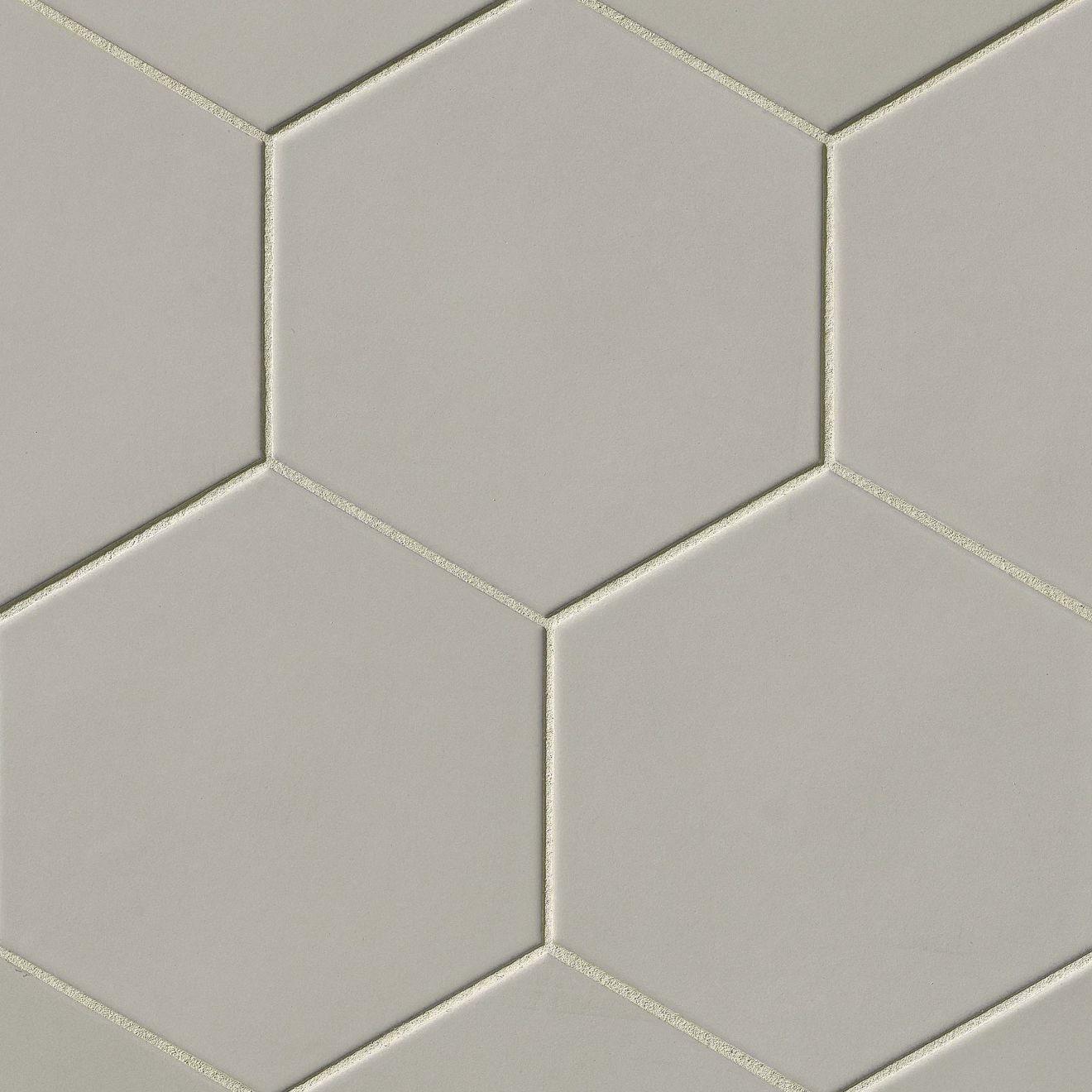 Costa Allegra X X Floor And Wall Tile In Cinder - Discount hex tile