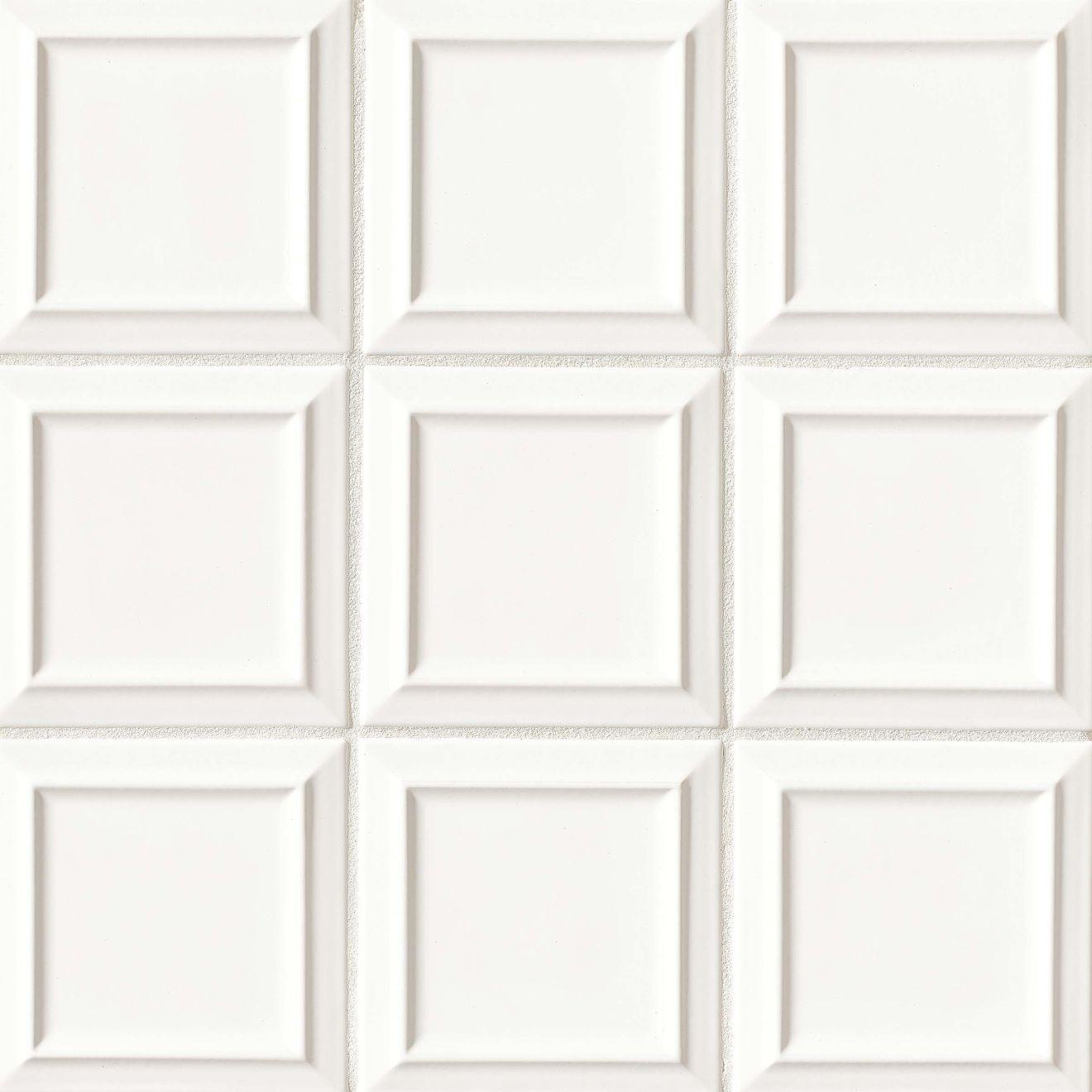 Costa Allegra 6 X Decorative Tile In White Sand