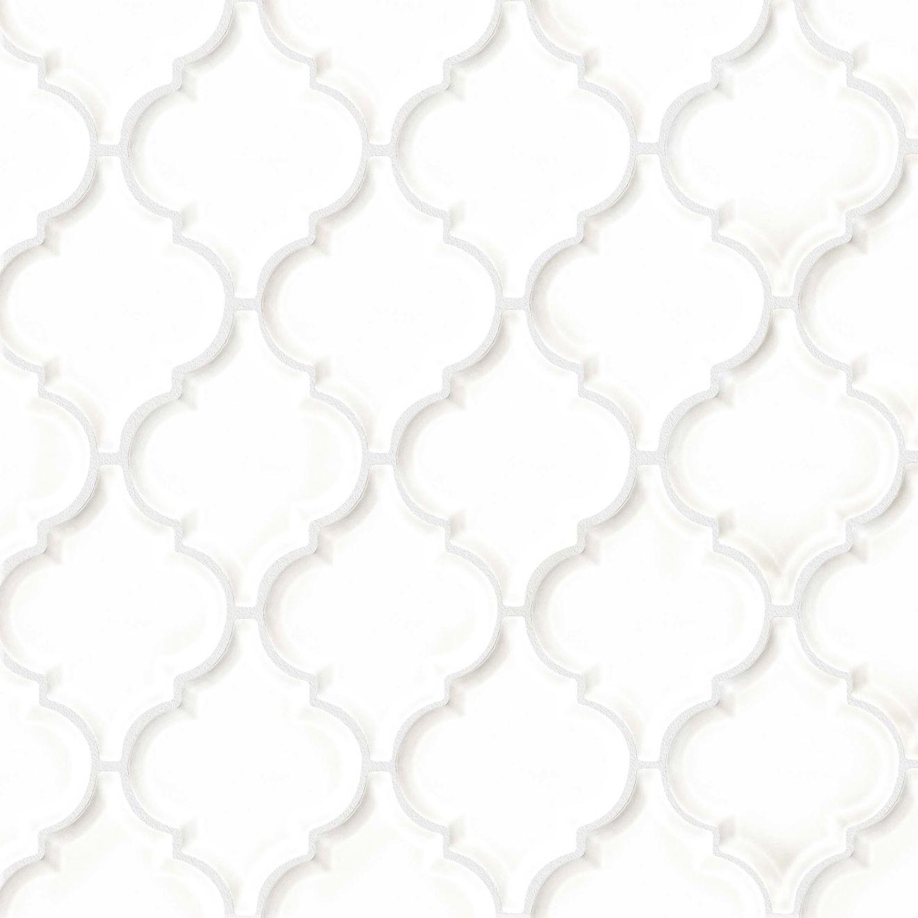 mosaic porch white